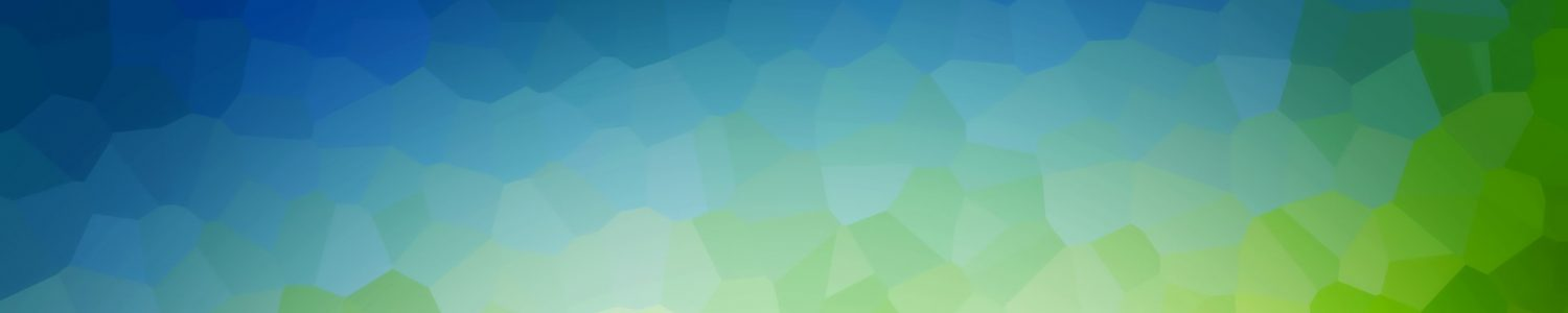Low poly green nature background, theme. Subtle vignette